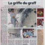 article de presse le nouvelliste valais jasm 1 jasm1 jasm one issam rezgui sion suisse graffiti street art WGA walliser graffiti artist
