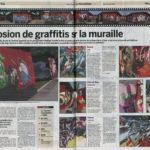 article de presse du nouvelliste muraille ville valais festival conception piscine blancherie jasm 1 jasm1 jasm one issam rezgui sion suisse graffiti street art WGA walliser graffiti artist