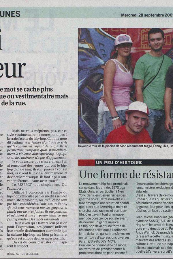 Le Nouvelliste – Le Mag Jeunes