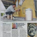 press article of le nouvelliste valais festival martigny jasm 1 jasm1 jasm one issam rezgui martigny switzerland graffiti street art WGA walliser graffiti artist